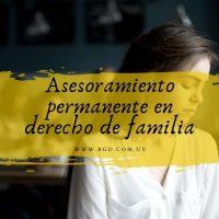 Asesoramiento permanente en derecho de familia