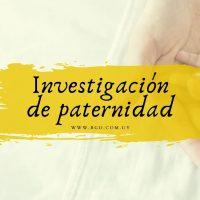 Investigación de paternidad
