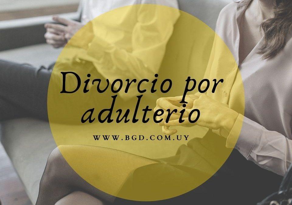 Divorcio por adulterio