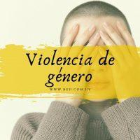 Denuncia de violencia de género