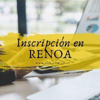 Inscripción en RENOA