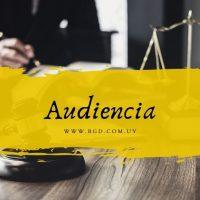 Audiencia en derecho de familia