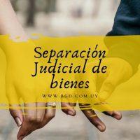 Separación judicial de bienes